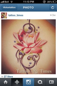This one, too!  I want to incorporate my existing tattoo with the new lotus design.