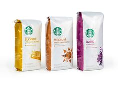 Pearlfisher worked with Starbucks to re-design their packaged coffee based on customer proclivity and a reconfiguration of their brand architecture.