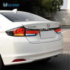 VLAND Manufacturing and Wholesale HONDA Vti/Grace city taillight led city tail light. The picture is vland Honda city tail lamp. You can see some details of lights.The lights makes the car more wonderful. Car Backgrounds, Honda Cub, Red Smoke, Lux Cars, Honda Civic Si, Led Tail Lights, City Car, Honda Accord, Motorcycle Accessories
