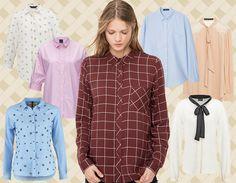 Stampate, tinta unita,  a fiori, maschili... Le camicie  più trendy selezionate per te! /Collage by Antonella Acquafredda)