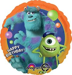 Anagram International Monsters University Birthday Foil Balloon Pack Multicolor * Check out this great product.