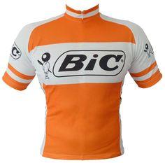 BIC Vintage / Retro Cycling Jersey.