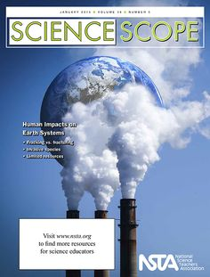 "The January issue of Science Scope is now online! This month, our article focus on helping your students understand Human Impacts on Earth Systems. Be sure to check out our free article this month, ""EQuiP-ped for Success: A Rubric to Help Implement the Next Generation Science Standards."""