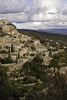 One of the prettiest places I have ever been. Pictures do not do it justice. Gordes, Luberon, France
