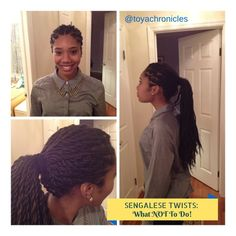 I love this style I might try these!   Senegalese Twists: What NOT To Do