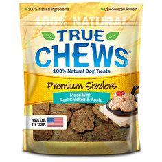 True Chews Premium Sizzlers Dog Treats, Chicken