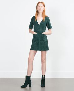 ZARA - WOMAN - FLARED DRESS