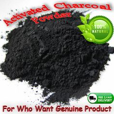 PURE ACTIVATED CHARCOAL POWDER FOOD GRADE TEETH WHITENING CARBON 100 g #OrganicSL