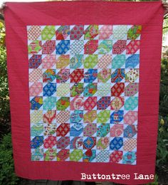 "Moda Bake Shop: Trade Winds and Stars Quilt - identified as ""easy"" and uses 2 charm packs."