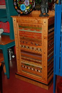 Beautiful And Elegant, This Large Texana Basura Stick Bookshelf Provides  Tons Of Storage. 41u2033 X 15u2033 X 78u2033. $1325.00 | David Marsh Furniture |  Pinterest ...