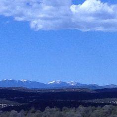 Sangre de Christo mountains, back side, near Santa Fe , NM