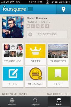 foursquare / Social Networking 02