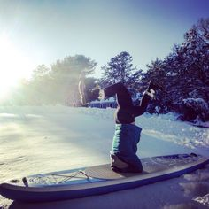 SUP headstands...snoproblem