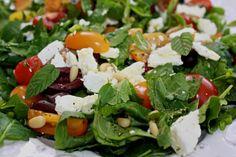 Low FODMAP & Nourishing Kale Greek Salad! Enjoy this one!
