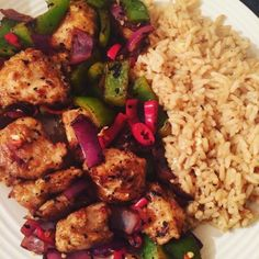 Healthy Dinner Ideas : Illustration Description Eating Yourself Slim: Salt & Chilli Chicken -Read More – Slimming World Dinners, Slimming World Recipes, New Recipes, Cooking Recipes, Healthy Recipes, Healthy Dinners, Asian Recipes, Healthy Foods, Salt And Chilli Chicken