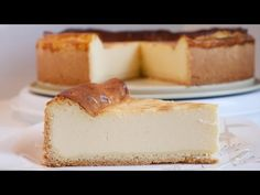 Cheesecake Tarifi / Alman Usulü Cheesecake / Käsekuchen - YouTube