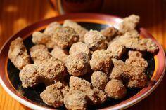 fahéjas-cukros csemege dióból és mogyoróból, bajor csemege
