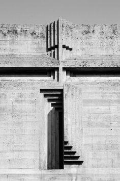 Visions of an Industrial Age // Carlo Scarpa. near Traviso, Italy /San Vito d'Altivole, Carlo Scarpa, Space Architecture, Architecture Details, Modernisme, Sendai, Brutalist, Facade, Inspiration, Treviso Italy