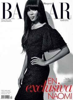 Naomi Campbell for Harper's Bazaar October 2013