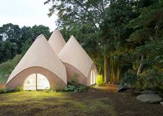 Cluster of tent-like structures houses elderly residents of a small Japanese community