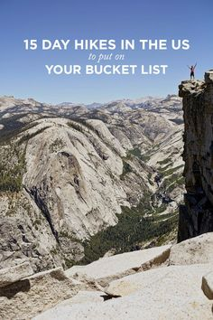 Check out this list of the 15 best day hikes in the US! // Article by Local Adventurer