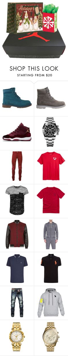 """""""yup. it's late but who cares"""" by z-er0 ❤ liked on Polyvore featuring Timberland, Rolex, AMIRI, True Religion, Boohoo, Ralph Lauren, Dolce&Gabbana, Polo Ralph Lauren, Versace and Michael Kors"""
