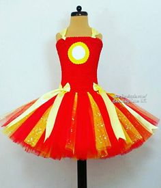 Hey, I found this really awesome Etsy listing at https://www.etsy.com/uk/listing/262046781/dc-comics-iron-man-inspired-tutu-dress