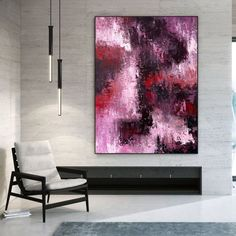 Abstract Canvas Original Paintings Abstract Paintings Wall Art image 2 Large Canvas Wall Art, Abstract Canvas Art, Extra Large Wall Art, Original Paintings, Abstract Paintings, Bedroom Paintings, Office Wall Art, Office Decor, Oversized Wall Art