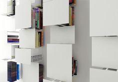 libreria da parete Bukva