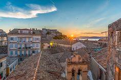 Corfu Old City - #corfu #kerkyra #ionianislands #greece #greeceislands  #travel #traveller  #traveling #tourism #tourist #landscape #landscapes #photography #photographer #sky #stylianosphotography #corfuartphoto #unescohellas #skylight #skycolors #sunsetcolors #corfusunsets #sunsetcorfu #fineartphotography #corfuoldcity