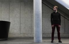 Another photo from our Autumn / Winter lookbook. Merino wool ITIS Sporty Turtleneck. Click to see more!