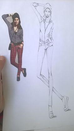 97 Mejores Imágenes De Diseño De Moda Drawings Fashion Drawings Y