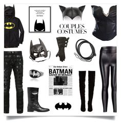 """""""Scary Cute: Couples Costumes"""" by madeinmalaysia ❤ liked on Polyvore featuring Thierry Mugler, Christian Louboutin, Yves Saint Laurent, Philipp Plein, Rogues Gallery, Koral, Cartoon Network and couplescostumes"""