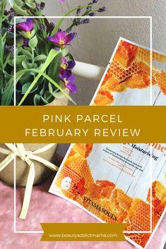 Pink Parcel February 2018 | beauty addict mama