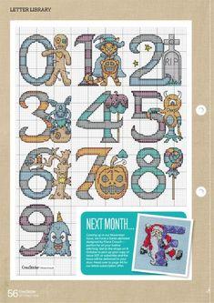 Cross Stitch Alphabet, Cross Stitch Embroidery, Cross Stitch Patterns, Halloween Cross Stitches, Plastic Canvas, Kids Rugs, Comics, Gallery, Amor