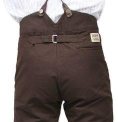 Classic Canvas Trousers - Walnut [002975]