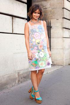Street Style Photoblog - Fashion Trends - Miroslava Duma, Paris