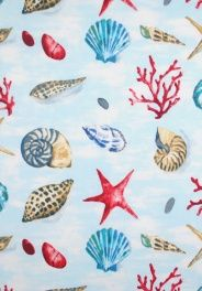 Seashells 5912 Coblat 715  PHP802.76 per metre  Get a Price  Composition: 100% Cotton  Fabric Care: Hand Wash Only Free sample