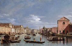 Bernardo Bellotto, Belotto (Canaletto) - Canal Grande, Venice