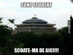 Sunt student, scoate-ma de aici! #funny #meme #imagini #amuzante #sugubat #student #facultate