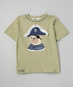 Another great find on #zulily! Tea Pirate Dog Tee - Toddler & Boys #zulilyfinds