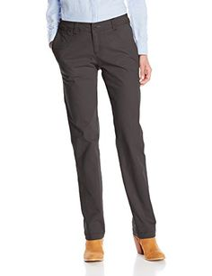 Woolrich Women's Wood Dove Straight Fit Modern Chino Pant, Slate, 8 -- Find out more about the great product at the image link.