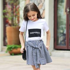 Cheap t-shirts for girls, Buy Quality t-shirt for girl kids directly from China tops for girls Suppliers: 2016 Summer Organic Cotton T-shirts for Girls 5 6 7 8 9 10 11 12 13 14 T Years Old Teenagers Kids Clothes For Girls Sports Top Cute Spring Outfits, Girls Summer Outfits, Cute Girl Outfits, Cute Outfits For Kids, Outfits For Teens, Summer Clothes, Black Outfits, Mode Old School, Teen Fashion
