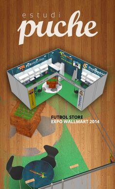 Stand Futbol Store - Expo Wallmart 2014