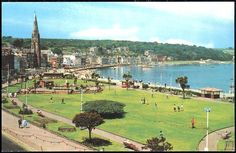 Rothesay sea front.