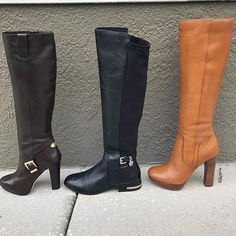 Make an impression with these MICHAEL Michael Kors boots! Shop them NOW on www.mymoshposh.com!