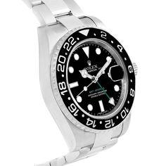 17560 Rolex GMT Master II Ceramic Bezel Steel Mens Watch 116710 Box SwissWatchExpo
