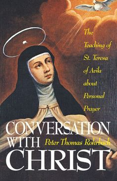 """The practicality of St. Teresa's teaching about mental prayer shines through in this wonderful synopsis of her writings about it--something she said """"the whole world could not purchase."""" Learn how we should pray, in order to grow in the spiritual life. It includes demonstrations of the methods of prayer that Rohrbach discusses in order to help the reader grow in contemplative prayer and the spiritual life."""