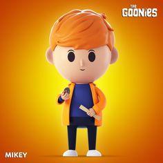 "Dai un'occhiata al mio progetto @Behance: ""Flixies - The Goonies"" https://www.behance.net/gallery/47695357/Flixies-The-Goonies"