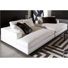 HAMILTON DAYBED & CHAISE LONGUE  Designed by Rodolfo Dordoni  Manufactured by Minotti  $4,485.00